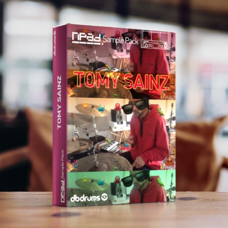 Sample Pack -Tomy Sainz - Baterías procesadas y loops