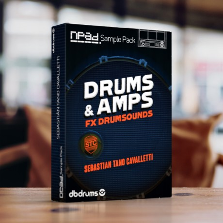 Sample Pack -Tano Cavalletti - Drums & Amps